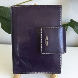 Kate Spade Made In Italy Leather Day Planner